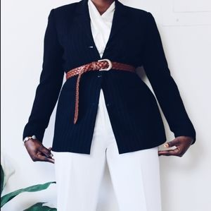 Petite sophisticate black blazer jacket